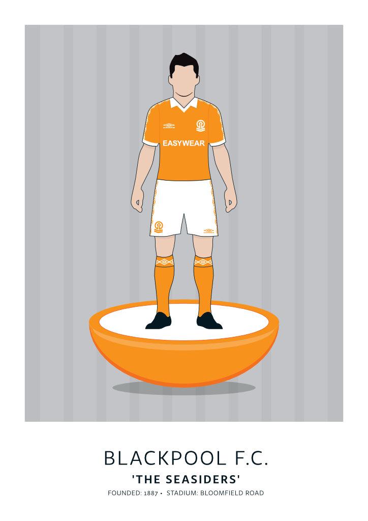 """Blackpool F.C. """"Easywear"""" 79-81"""