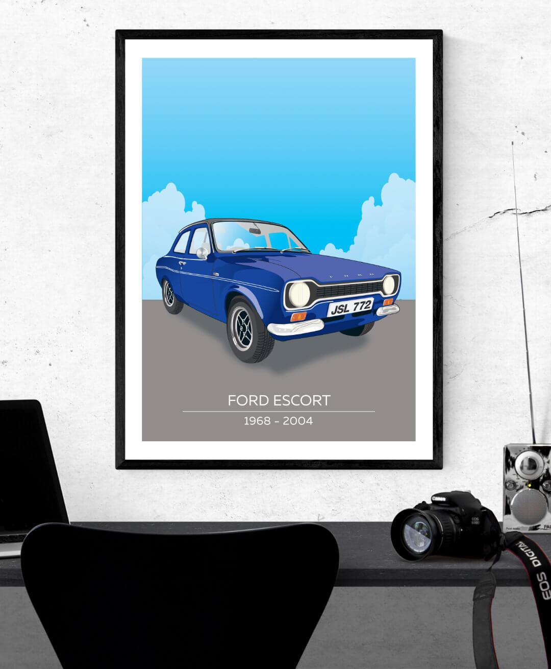 Ford Escort Mk1 Illustration