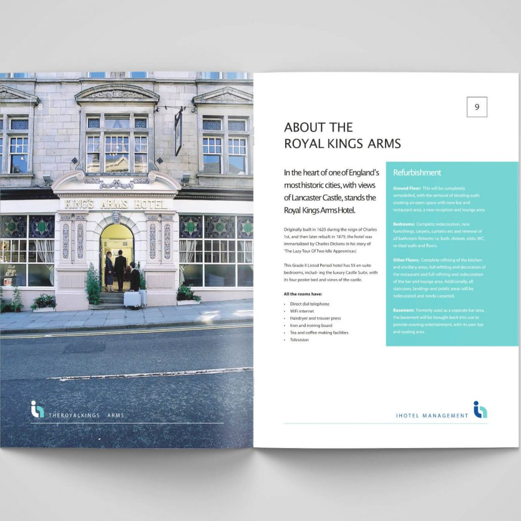 Royal Kings Arms Investment Brochure