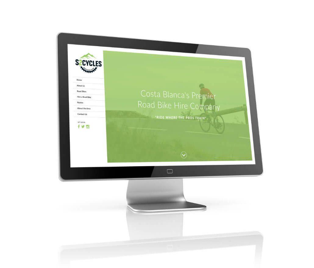 S2 Cycles Website Design