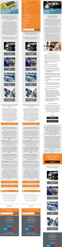 UI/UX Design For Stunell Technology