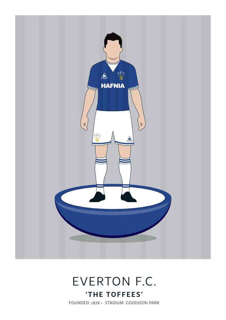 """Everton """"Hafnia"""" 84-85"""