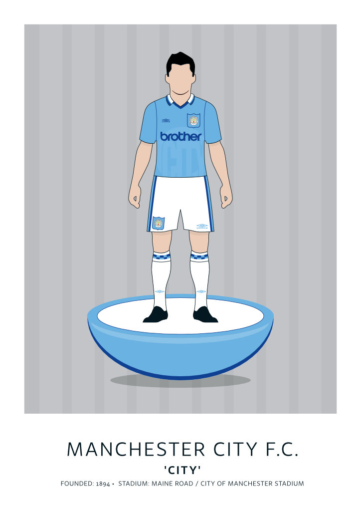 "Manchester City ""Oasis Era"" 95"