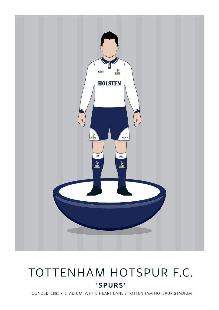 """Tottenham Hotspur """"Holsten"""" 91-93"""