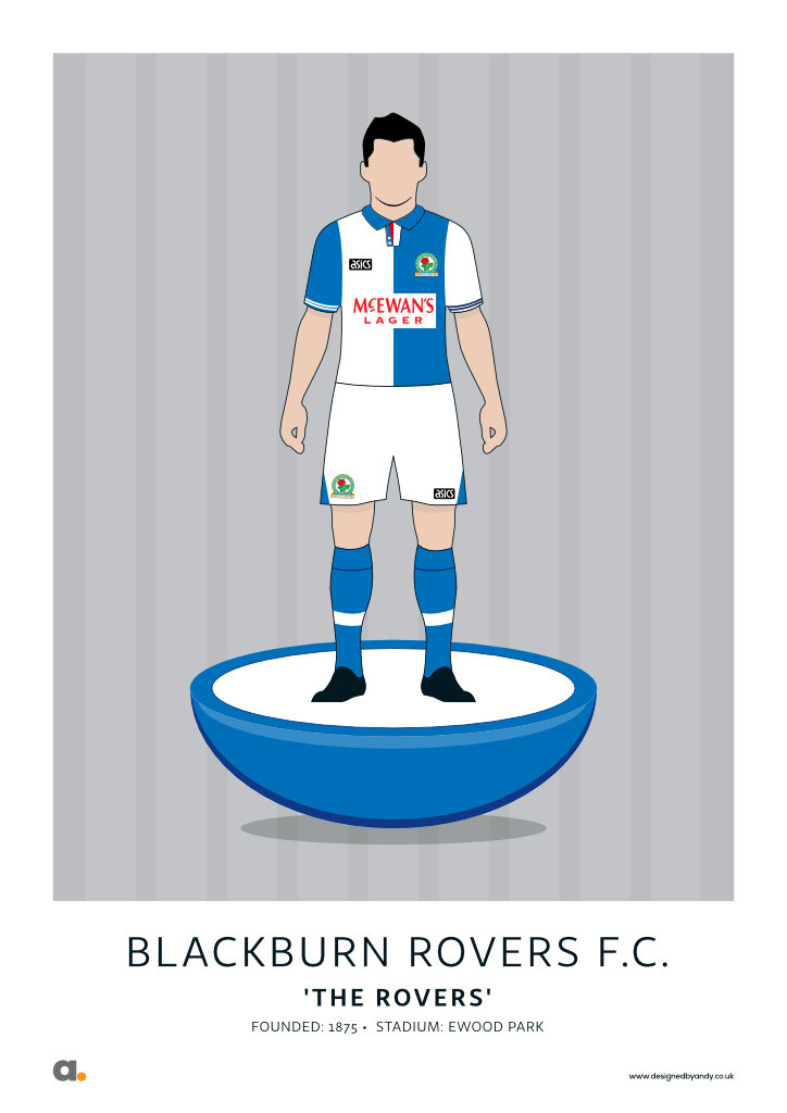 Blackburn Rovers 94-95