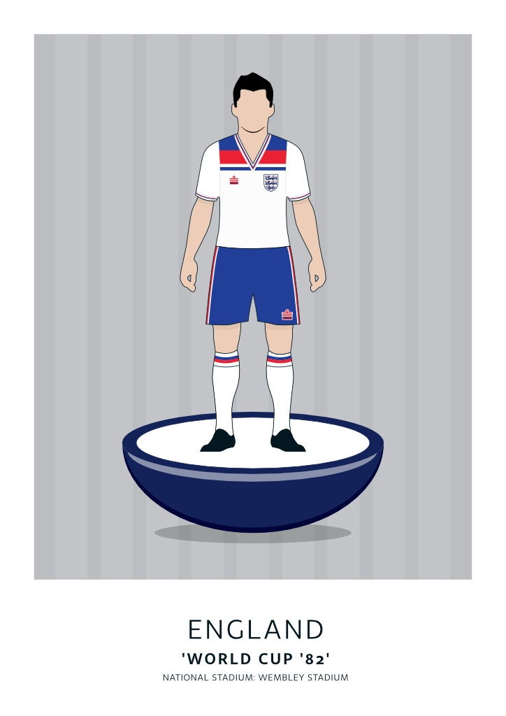 England World Cup '82 Home