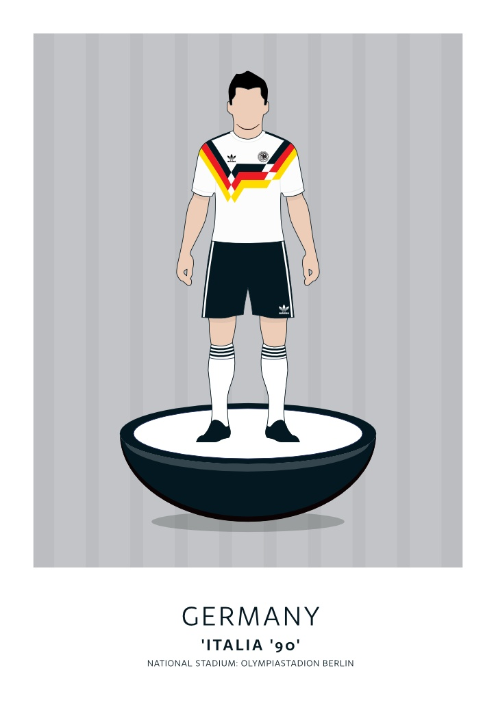 Germany Italia '90 Home