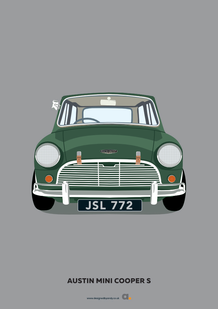 Designed By Andy Austin Mini Cooper