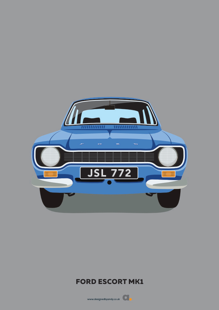 Designed By Andy Ford Escort Mk1